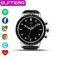 Elftear y3 android 5.1 smart watch 512 mtk6580 mb/4 gb bluetooth wifi gps monitoreo de la frecuencia cardíaca de pulsera smartwatch