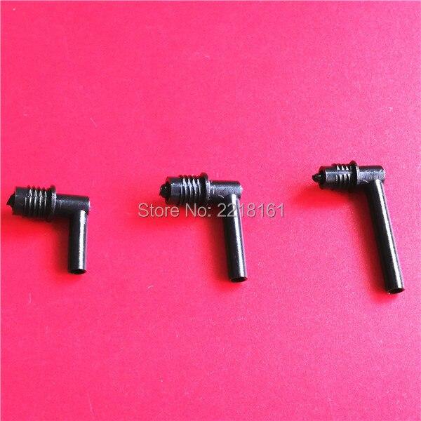 bilder für Hohe qualität UV/eco-solvent drucker DX5 tinte dämpfer stecker L form für Epson 4880 7880 9800 dumper armaturen kunststoff 20 stücke