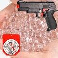 BOLAS de agua Que Absorbe SÓLO Para Desert Eagle Pistola de Juguete Que Cambia de Color Blanco Agua Secante Airsoft Pistola de Bala 10000 UNIDS 7-8 MM
