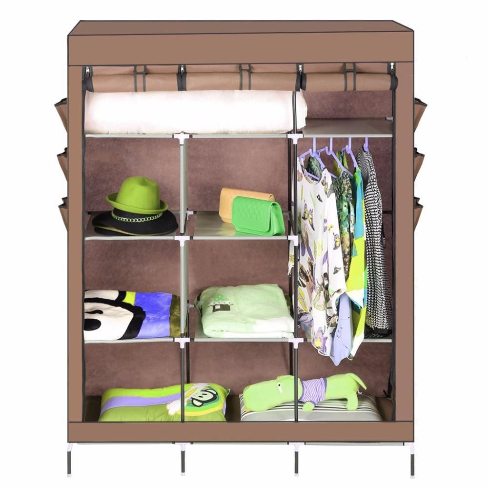 Portable wardrobe on wheels - Portable Wardrobe Closet With Shelves Portable Closets On Wheels