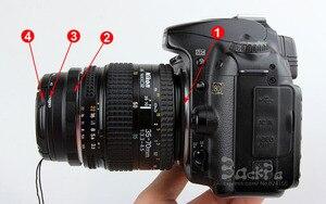 Image 1 - Kit de anillo de protección inversa de lente Macro 4 en 1 ai a 52mm cpl uv filtro cap anillo adaptador para d80 d90 d3100 d3200 d5100 d5200 d7000