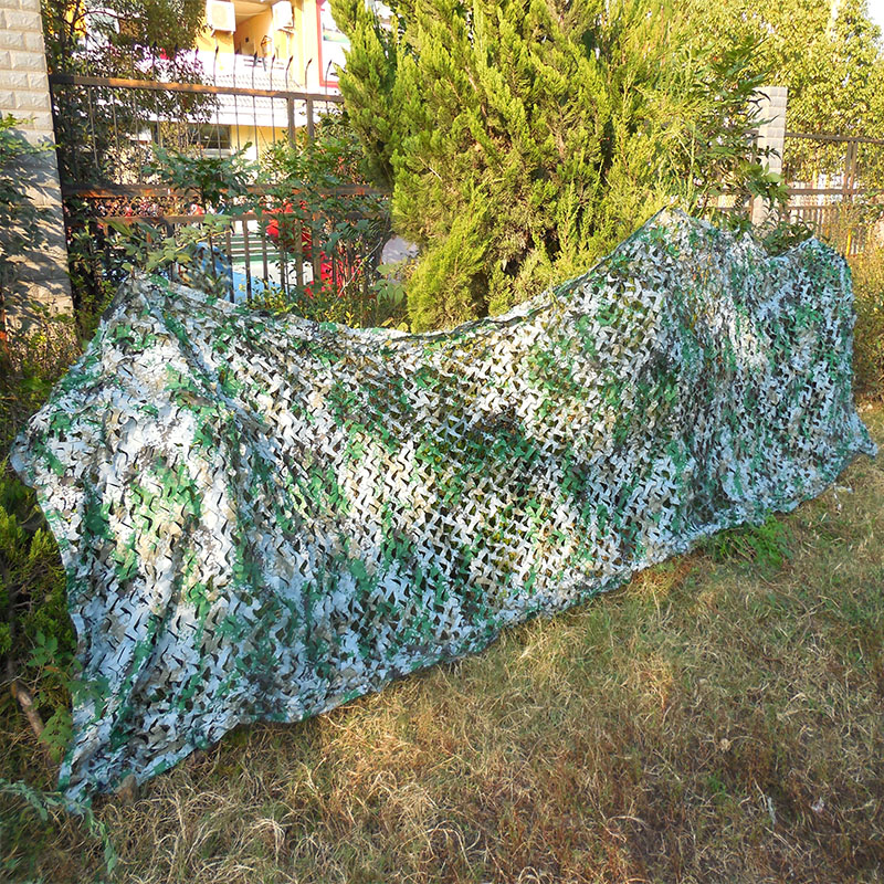 NEW HOT! 1.5X6M Hunting Camping Hiking Camouflage Net Car Drop netting Digital Camo netting for Military Photography Sun Shelter