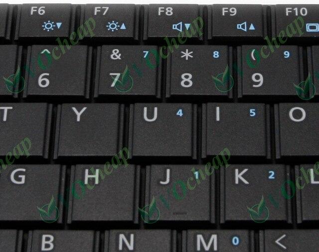Neue us notebook laptop tastatur für fujitsu lifebook lh520 lh530 lh531 lh530g black-v160630as1 uns, CP483548-01