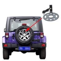 Vardsafe VS662   Rear View Reverse Backup Camera + OEM Radio Video Harness for Jeep Wrangler (2007 2018)