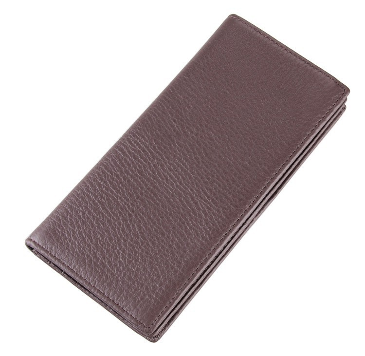 8053C fashion style vintage wallet purse keep cards 100% genuine leather