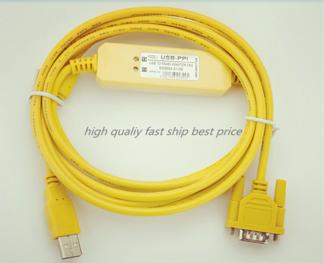 Excellent 10Pcs High Quality Usb Ppi Plc Programming Cable Pc Usb To Rs485 Wiring 101 Tzicihahutechinfo