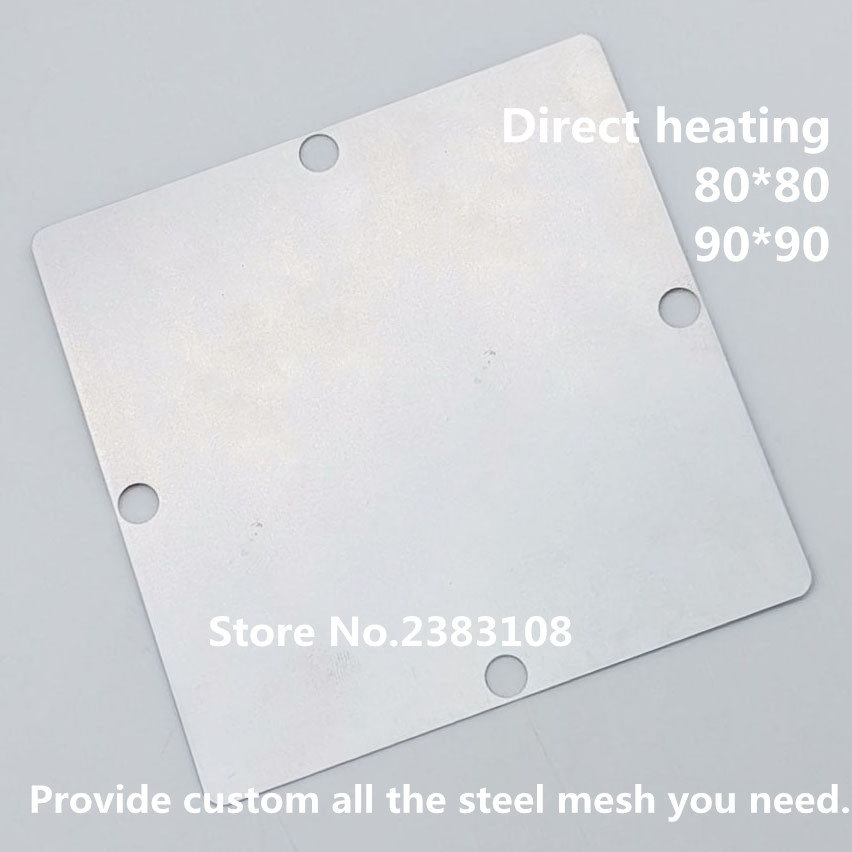Direct heating 80*80 90*90     MSD6A901IV-XE     BGA Stencil Template