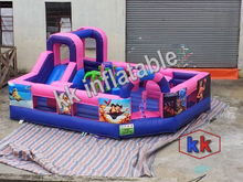 inflatable slide jumping castle bouncer combo baby worker inflatable house mini bouncer