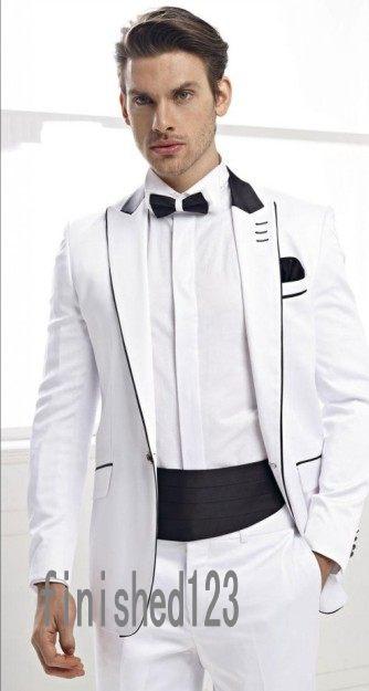 New Arrival 16 Style Groom Tuxedos Groomsmen Men's Wedding Prom Suits Bridegroom (Jacket+Pants+Girdle+Tie) K:652