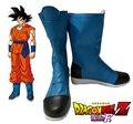 Envío Gratis de Super Dragon Ball Goku Super Saiyan Dios Azul Botas de Cosplay de Anime