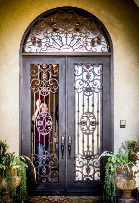 Wholesale Wrought Iron Doors Iron Double Doors Iron Doors Iron Front Doors For Sale  Hc8