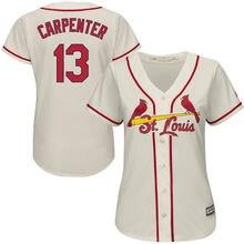 7500d99b68e MLB Women s St. Louis Cardinals Matt Carpenter White Home Cool Base Player  Jersey(China