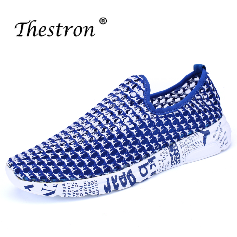 Купить с кэшбэком Thestron Fashion Sneakers Lovers Casual Shoes Women's Black Blue Red Female Casual Sneaker Breathable Light Designer Shoes