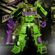 цены Model Transformation Defensor Devastator Figure Toys Action Figure Robot Plastic Toys BEST Gift For Education Children