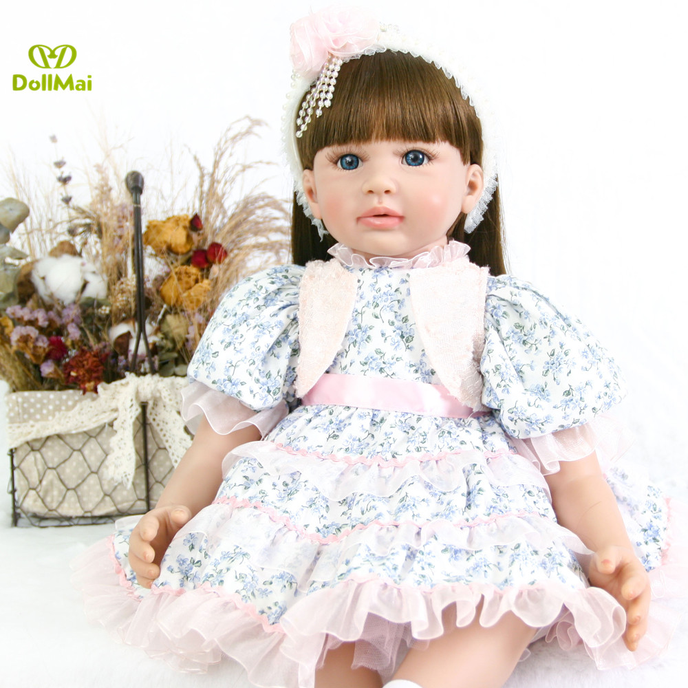 24 Bebes reborn toddler girl doll Silicone Reborn Baby Doll Toys for children gift toy dolls vinyl princess baby alive dolls24 Bebes reborn toddler girl doll Silicone Reborn Baby Doll Toys for children gift toy dolls vinyl princess baby alive dolls