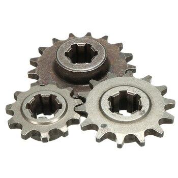 Rueda dentada delantera de piñón T8F 8mm 11/14/17, cadena Cog Mini Moto Dirt Bike
