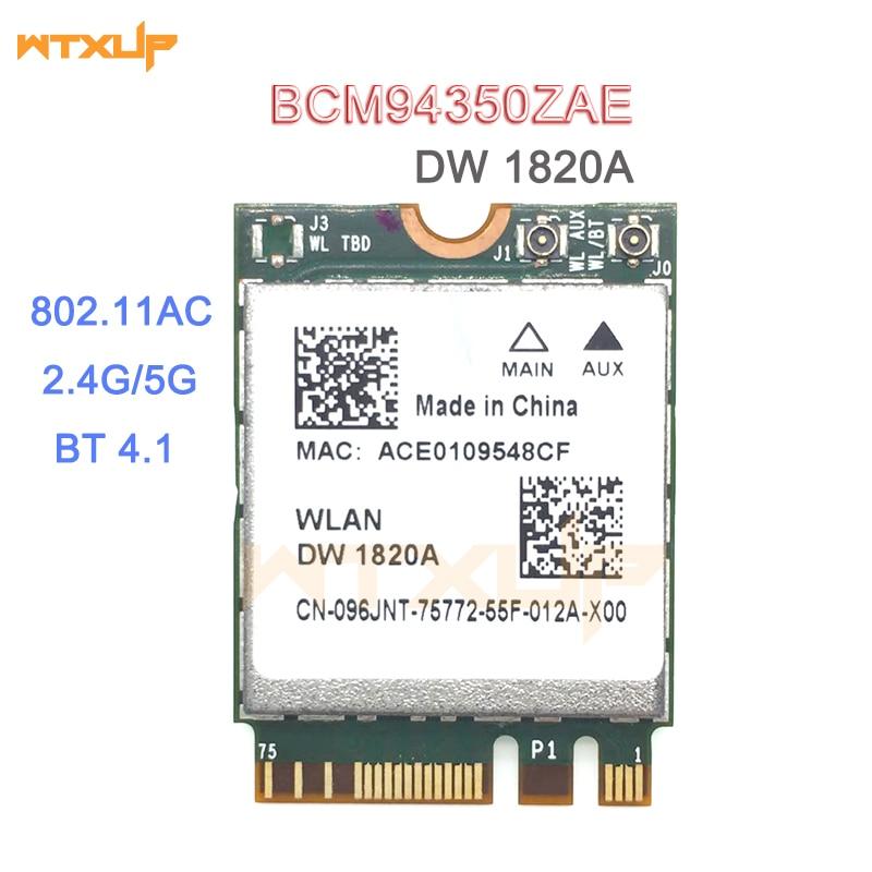 HOT SALE] DW1820A BCM94350ZAE 802 11ac BT4 1 867Mbps