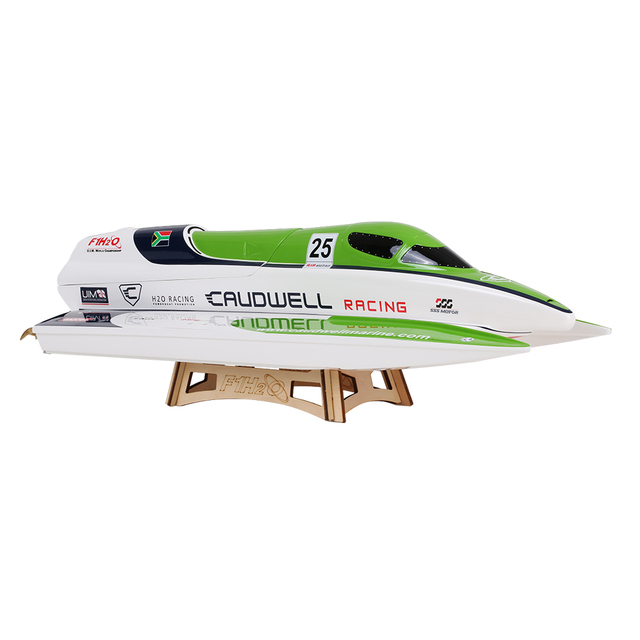 TFL Hobby 1138 Caudwell F1 2.4G Racing Brushless Electric Water Cooling Speedboat Fibre Glass RC Boat