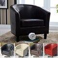 PU bañera-piel sintética silla sillón sofá Club Hotel silla del ocio Silla de sala dropshipping