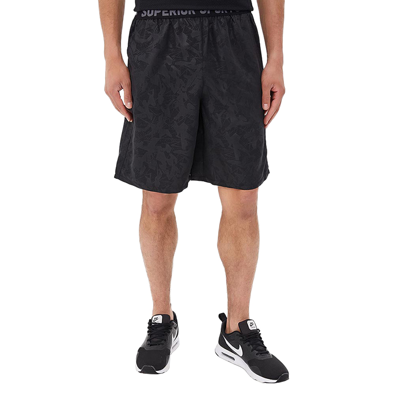 Casual Shorts MODIS M181S00218 men cotton shorts for male TmallFS casual summer ripped straight legs zip fly denim shorts for men