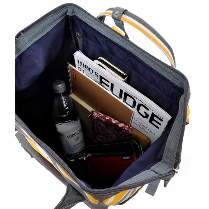 ファッションキャンパス男性と女性のバックパック、オックスフォード大男性と女性スクールバッグストライプバックパックレジャーラップトップ旅行バッグ