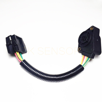 1 PC For VOLVO pedal position  6 LINES B  20715967 21116880 21915486  20499271 3985226  20524685 Throttle Position sensor