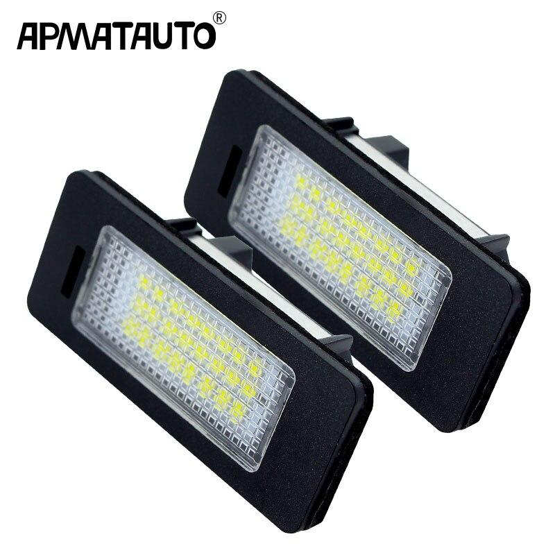 2x автомобиль светодиодный номерные знаки светильник лампа 12v Белый для BMW E39 E60 E82 E90 E92 E93 M3 E39 E60 E70 X5 E60 E61 M5 E88