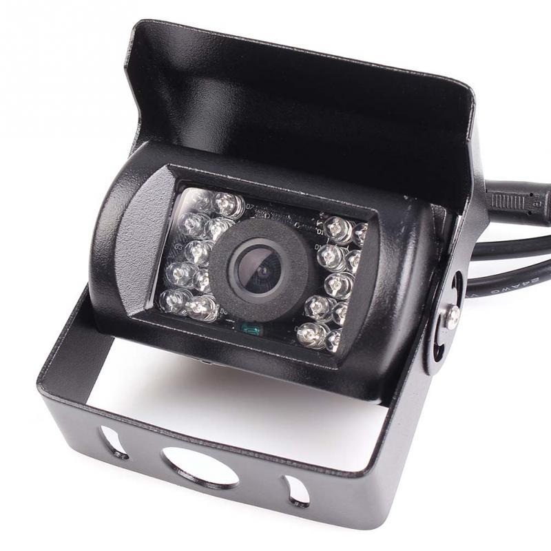 Eunavi Car Truck Waterproof 18 LED Night Vision Backup Rear View font b Camera b font