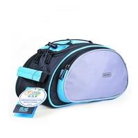 Q1056 Multipurpose Shelves Kit 14541 Bike Pack Tail Bags Bike Gear Black Blue Bicycle Bags