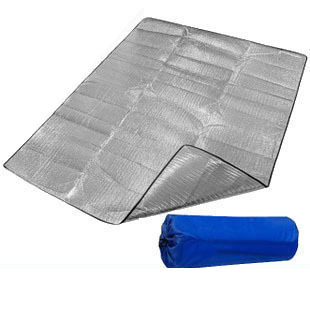 Camping Barraca Air Mattress Moisture-proof Pad Outdoor Double Faced Aluminum Broadened Thickening Tent Picnic Rug Floor Mat