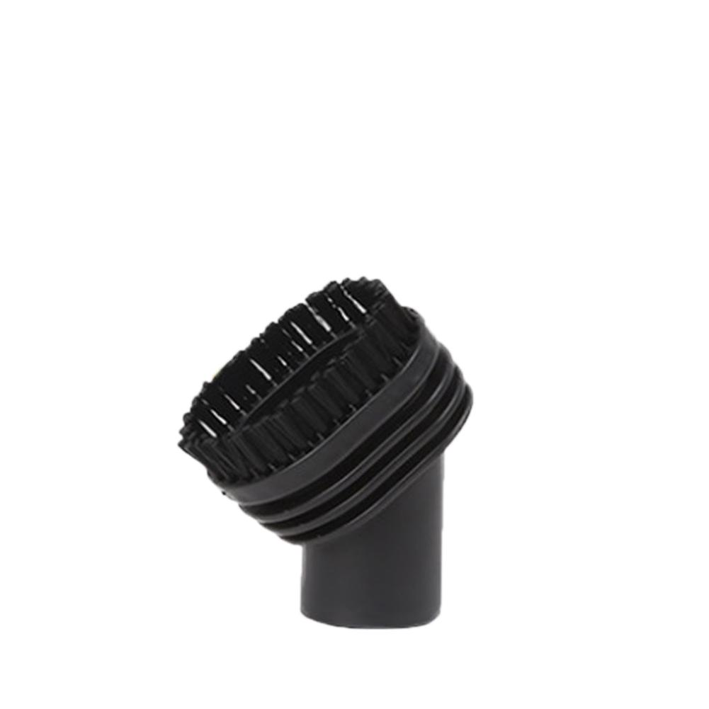 Adoolla Vacuum Oval Cleaning Brush Head Cleaner Tool (PP Round Hair Brush Suction Head Nozzle Mouth)32mm
