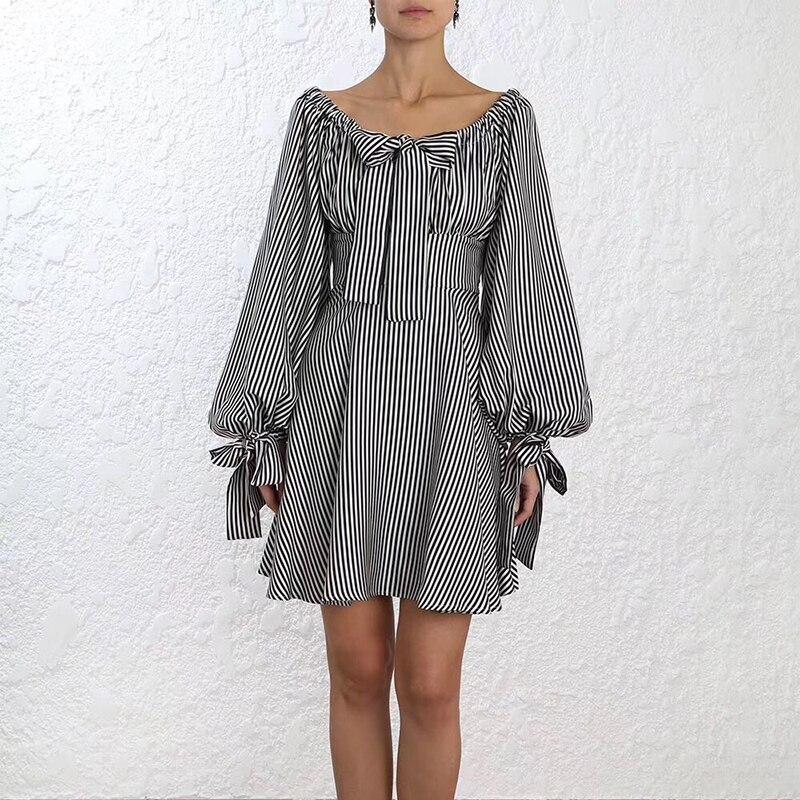 Floral cou Robes Robe Pour The Mi 2019 Rayé Qualité Femmes Bohème Mode O Haute De Les Off Faut mollet 76qFHxnwBw