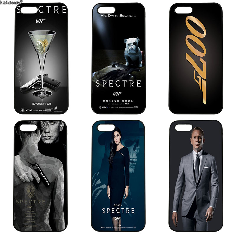 007 Skyfall Spectre James Bond Phone Cases Hard Plastic Cover for iphone 8 7 6 6S Plus X 5S 5C 5 SE 4 4S iPod Touch 4 5 6 Shell
