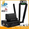 URay 3G 4G LTE HD 3G SDI IP Streaming codificador H.265 H.264 RTMP RTSP UDP su 1080 p codificador H265/H264 apoyo FDD TDD para vivir
