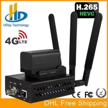 यूआरई 3 जी 4 जी एलटीई एचडी 3 जी एसडीआई आईपी स्ट्रीमिंग एनकोडर एच .265 एच .264 आरटीएमपी आरटीएसपी यूडीपी एचएलएस 1080 पी एनकोडर एच 265 / एच 264 समर्थन एफडीडी टीडीडी लाइव के लिए
