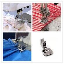 Free shipping Fold Hem Presser Foot Feet Kit For Sewing Machine Home Tool 5pcs
