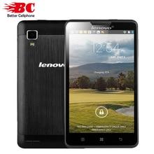 """טלפונים סלולריים המקורי lenovo p780 mtk6589 quad core 5 """"1280x720 אנדרואיד 4.4 glass1280x720 גורילה 1 gb ram 8.0mp 4000 mah סוללה(China (Mainland))"""
