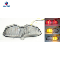 Waase Achter Achterlicht Tail Brake Knipperlichten Geïntegreerde Led Licht Lamp Clear Voor 2006 2007 2008 2009 YAMAHA XTZ250X XTZ 250 250X