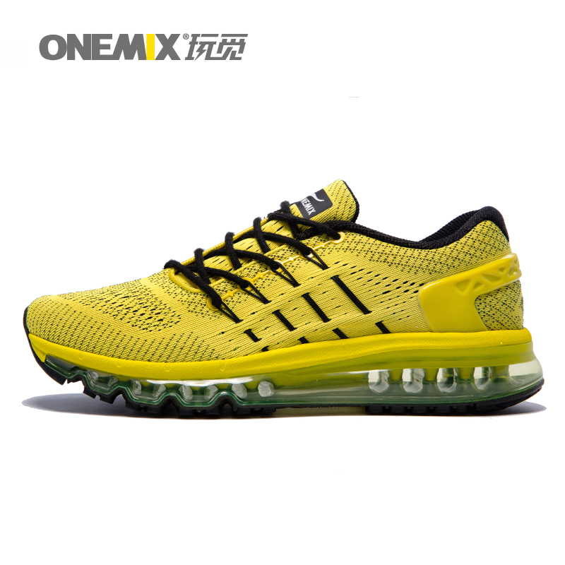 Onemix 2017 new Men Running Shoes  Women Sport  Sneakers Athletic Zapatillas Outdoor Breathable Original 1155 mulinsen men s running shoes blue black red gray outdoor running sport shoes breathable non slip sport sneakers 270235