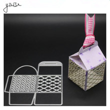 YINISE Metal Cutting Dies For Scrapbooking Stencils Party Box Cut SCRAPBOOK DIY Album Cards Decoration Embossing Folder Die Cuts