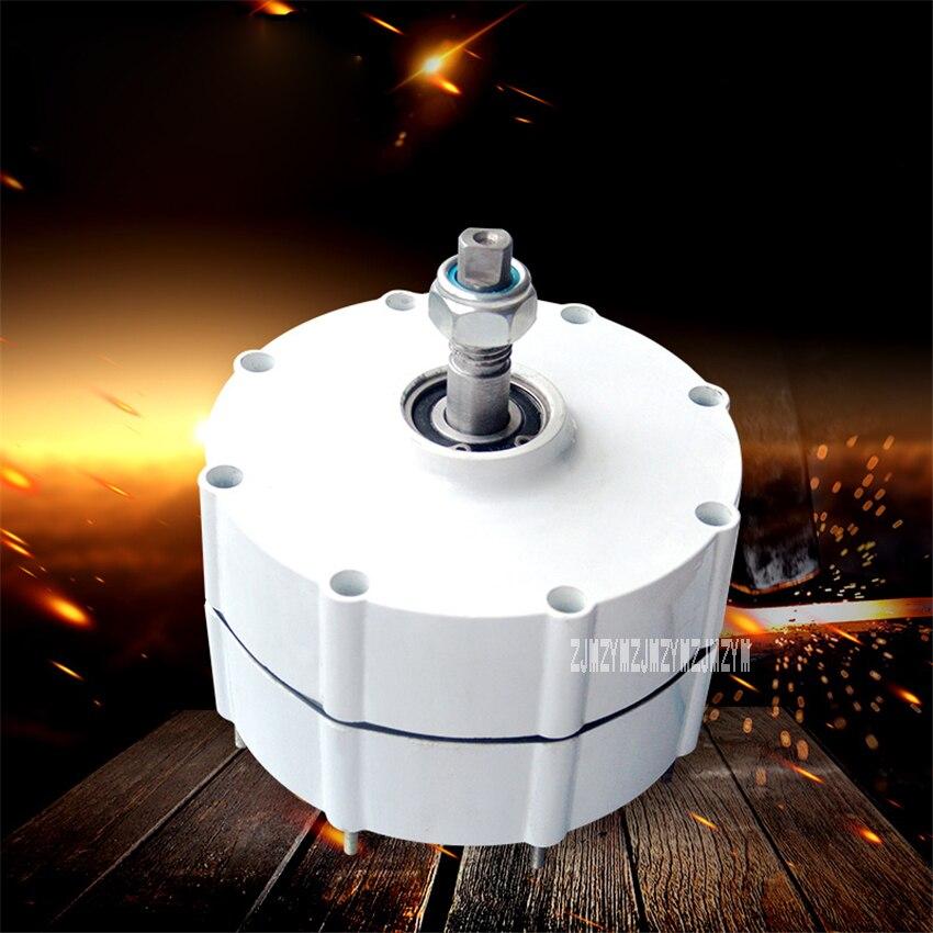 NE-500W triphasé AC générateur à aimant Permanent éolienne alternateur 500 W éolienne générateur 12 V/24 V 600r/min IP55 20 MM