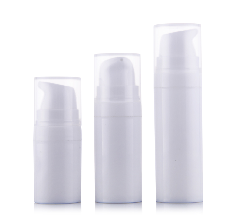 50pcs/lot 5ml 10ml 15ml White Airless Pump Lotion Bottle,1oz PP Airless vacuum bottle,Airless Container,Cosmetic Packaging,PP alcohol and liquid container bottle white 180ml