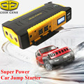 Geek Gene Super Capacity 16000mAh 12V Car Jump Starter 600A Peak Car Charger Mobile 4USB Power Bank Compass SOS Lights Free Ship