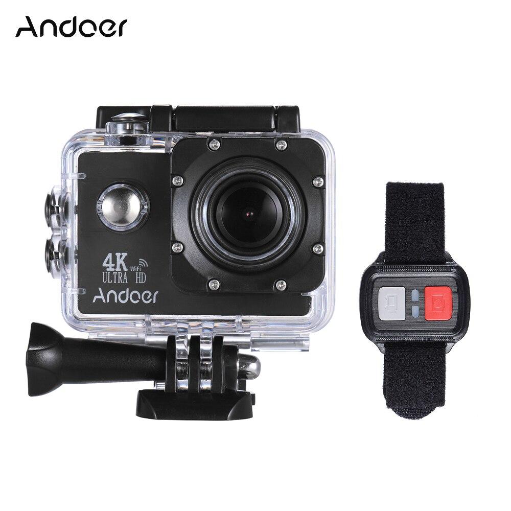 Andoer An4000 4 Karat Kamera 16mp Wifi Action Kamera 1080 P 2 lcd-bildschirm Weitwinkelobjektiv Unterstützung Langsam Fotografie W/fernbedienung Unterhaltungselektronik Sport & Action-videokameras