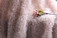 Most Exquisite Nude Pink Chiffon Rosette Fabric Latest Version Of The Photography Prop Bridal Fabric Wedding
