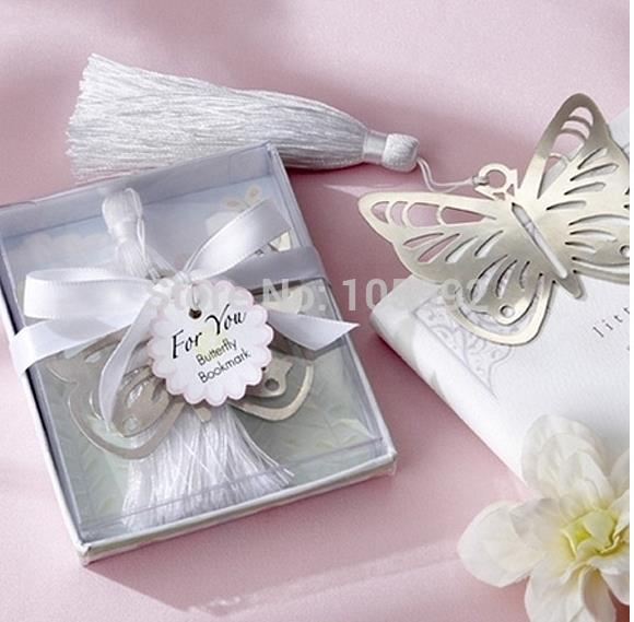 Whole Wedding Gift Kate Aspen Por Elegant Erfly Bookmark 200pcs Lot From Reliable Gifts Employee Suppliers On Surprise Party Favor