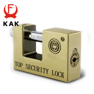 Image 5 - KAK E9 Series Archaize Super B Grade Padlocks Safe Anti Theft Lock Rustproof Antique Bronze Top Security Locks For Home Hardware