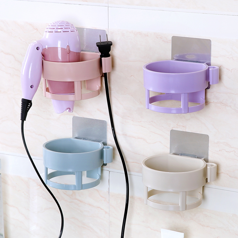 Easy to install hair dryer Rack Wall Holder for Home Hotel ...