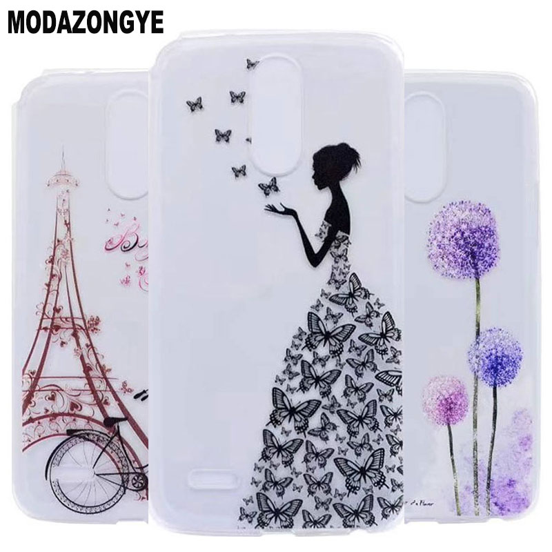 For <font><b>LG</b></font> Stylus 3 Case 5.7inch Cartoon Soft Tpu Back Cover Phone Case For <font><b>LG</b></font> Stylo 3 <font><b>LG</b></font> K10 Pro LS777 <font><b>M400DY</b></font> Stylus3 Case Silicone image