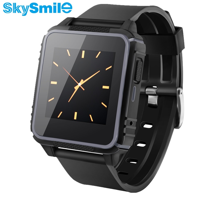 ФОТО SkySmile IP68 Waterproof Smart Watch Bluetooth Swimming Heart WristWatch For IPhone 5/5S/6/7 Plus Android Samsung S4/Note 3 HTC